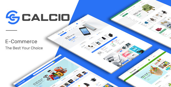 Calcio — Mega Store Responsive OpenCart Theme