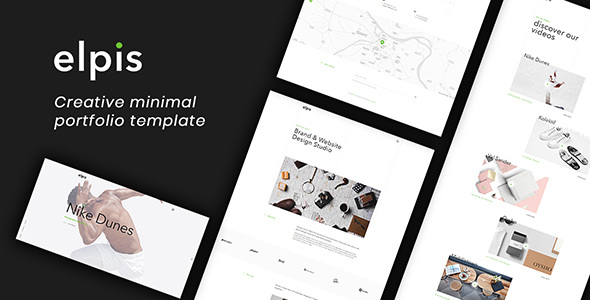 Elpis — Creative Minimal Portfolio Template