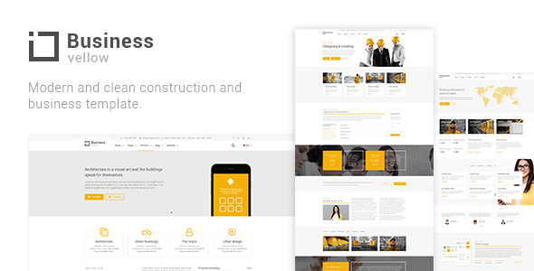 Yellow Business — Construction And Businesses