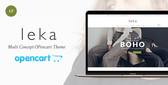 Leka — Multi Concept Opencart Theme