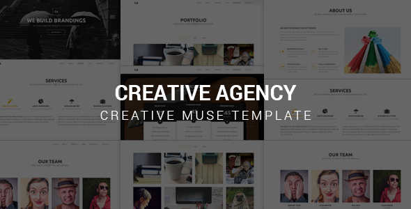 Creative Agency v1.0 — Muse Template