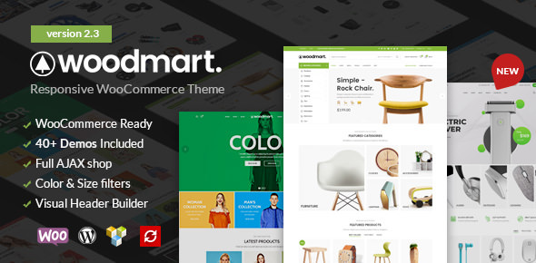 WoodMart v2.3.0 — Responsive WooCommerce WordPress Theme