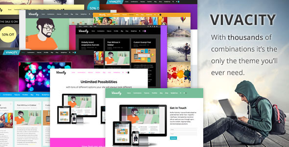 Vivacity v2.9.1 — Multi-Purpose Responsive Theme