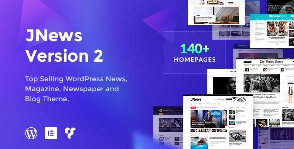 JNews v2.0.3 — Newspaper Magazine Blog AMP Theme