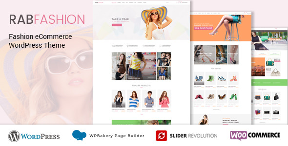 RAB v1.1.1 — Fashion eCommerce WordPress Theme