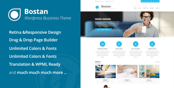 Bostan Business v5.540 — Business Theme