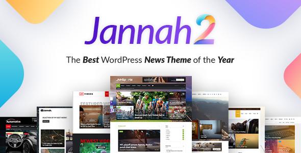 Jannah News v2.1.4 — Newspaper Magazine News AMP BuddyPress