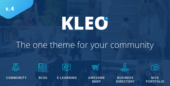 KLEO v4.3.6 – Next level WordPress Theme