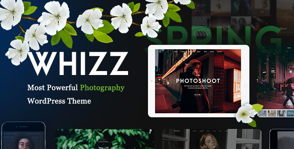 Whizz v1.3.9.5 — Photography WordPress for Photography