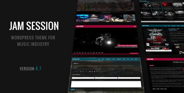 JamSession v4.8.3 — Music & Music Band WordPress Theme
