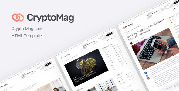CryptoMag — Cryptocurrency Magazine HTML Template