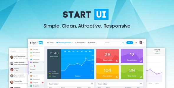 StartUI v1.3.1 — Premium Bootstrap 4 Admin Dashboard Template