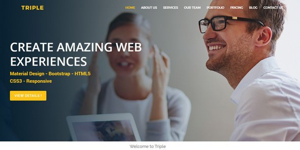 Triple v1.0 — Multipurpose HTML5 Template