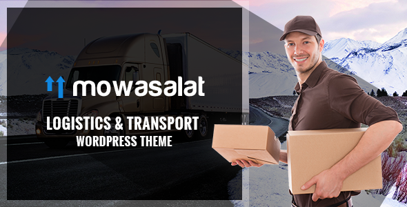 Mowasalat v1.3 — Logistic and Transports WP Theme