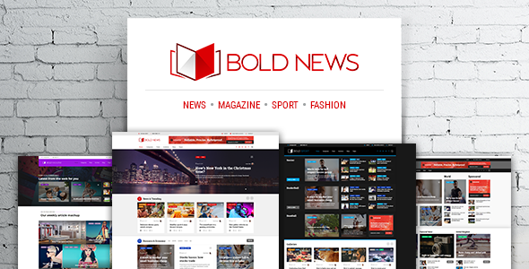 Bold News v1.2.3 — Magazine News Newspaper