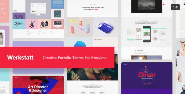 Werkstatt v2.3.8.6 — Creative Portfolio Theme