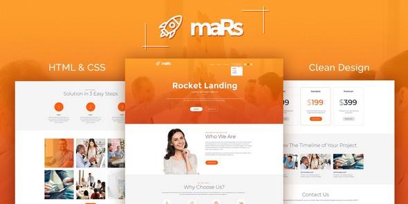 maRs v1.0 — Startup HTML Template