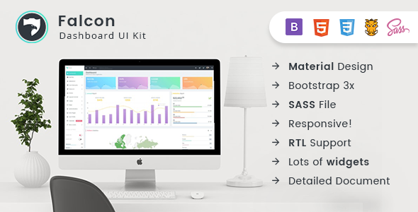 Falcon — Bootstrap Admin Dashboard Template + UI Kit