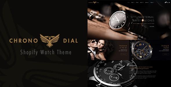 Chrono Dial — Watch Shopify theme