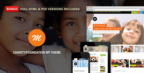 Mission v2.4.2 — Responsive WP Theme For Charity