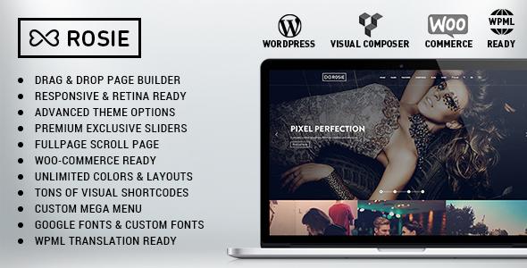 ROSIE v3.4 — Multi-Purpose WordPress Theme
