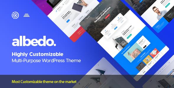 Albedo v1.0.25 — Highly Customizable Multi-Purpose Theme