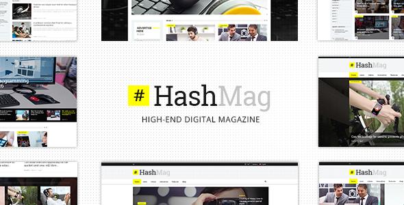 HashMag v1.5 — High-End Digital Magazine