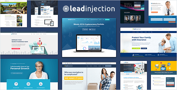 Leadinjection v2.2.6 — Landing Page Theme