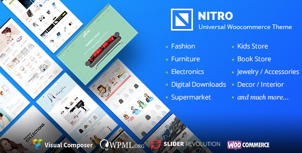 Nitro v1.6.1 — Universal WooCommerce Theme