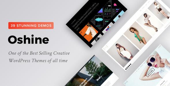 Oshine v6.4.4 — Creative Multi-Purpose WordPress Theme