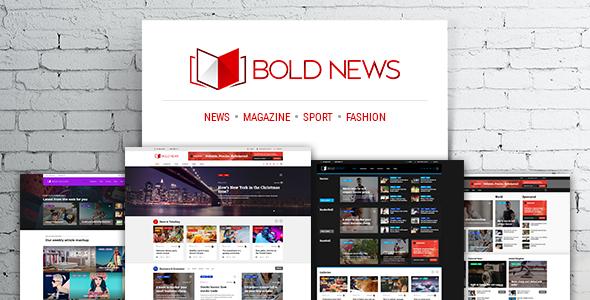 Bold News v1.2.4 — Magazine News Newspaper