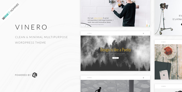 Vinero v1.4 — Creative MultiPurpose WordPress Theme