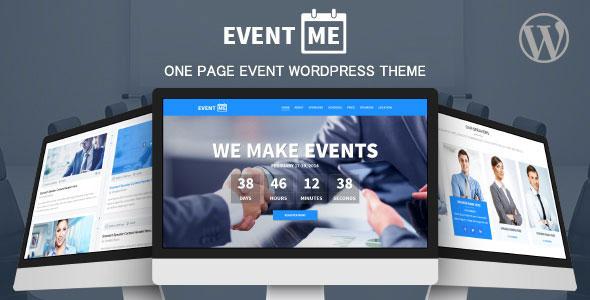 EventMe v2.5.8 — Event Landing WordPress Theme