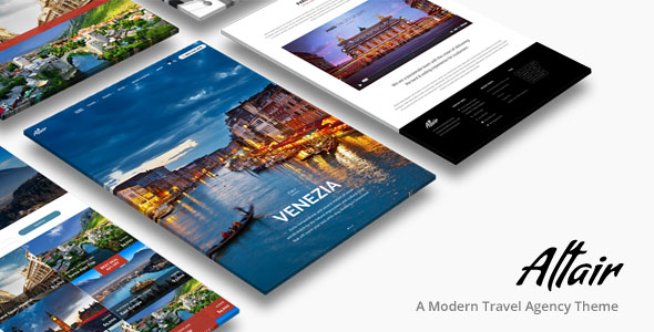 Altair Theme v4.0 — Tour Travel Agency