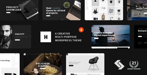 Heli v4.6 — Creative Multi-Purpose WordPress Theme