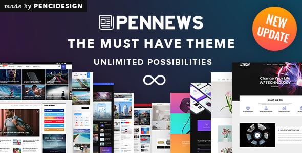 PenNews v4.0 — News/ Magazine/ Business/ Portfolio