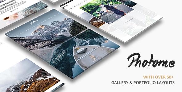 Photo Me v3.4 — Photo Photography WordPress Theme