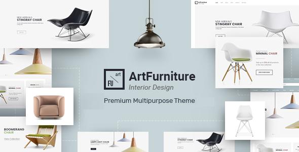 ArtFurniture — Responsive OpenCart Theme