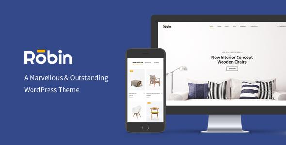 Robin v1.6.4 — A Furniture WooCommerce WordPress Theme