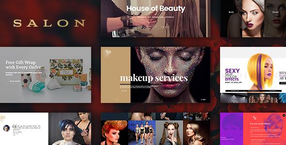 SALON v1.8 — WordPress Theme for Hair & Beauty Salons