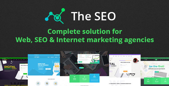 The SEO v2.9.3 — Digital Marketing Agency WordPress Theme