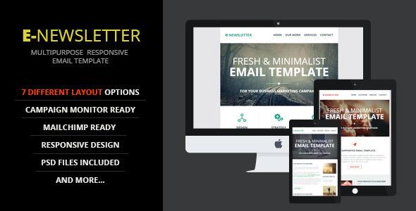 E-Newsletter v1.0 — Multipurpose Email Template