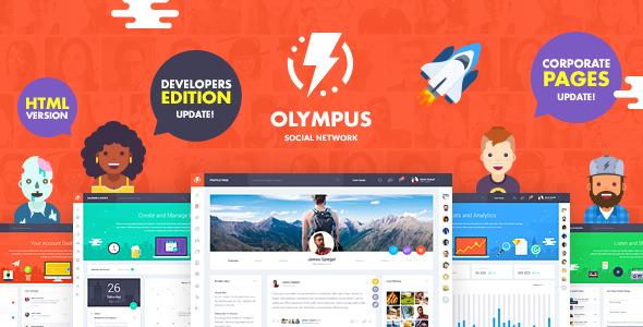 Olympus — HTML Social Network Toolkit