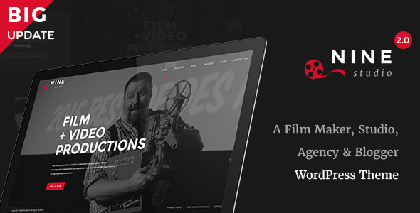 Nine Studio v2.3.5 — A Film Maker, Studio, Agency & Blogger Theme