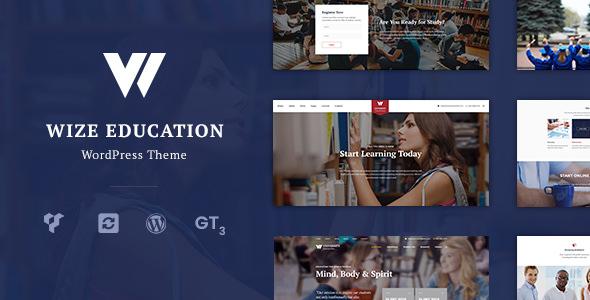 WizeEdu v1.2.4.2 — Education Courses & Events LMS Theme