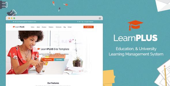LearnPLUS v1.1.5 — Education LMS Responsive Theme