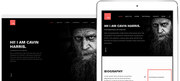 JA Resume v1.0.5 — Responsive Joomla Template for Resume & Portfolio