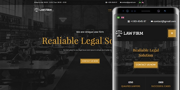 JA Law Firm v1.0.2 — Best Joomla Template for Lawyer and Business websites
