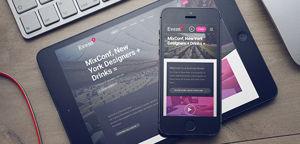 JA Events II v1.0.7 — Best Responsive Joomla Events template