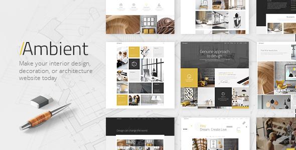 Ambient v1.3 — A Contemporary Theme for Interior Design